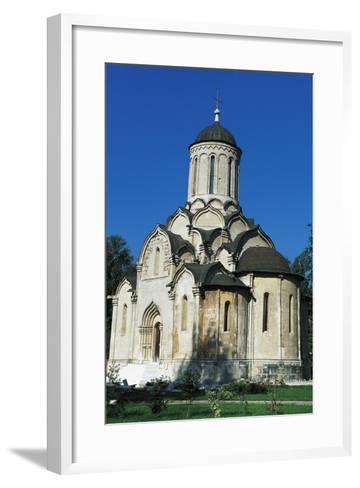 Cathedral of Christ Saviour, Andronikov Monastery of Saviour, Moscow, Central District, Russia--Framed Art Print