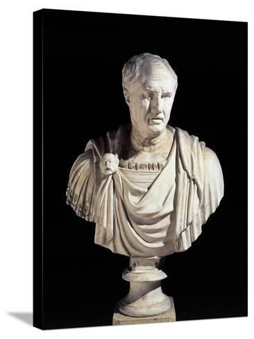 Bust of Cicero from Sabbioneta, Mantova Province, Italy--Stretched Canvas Print
