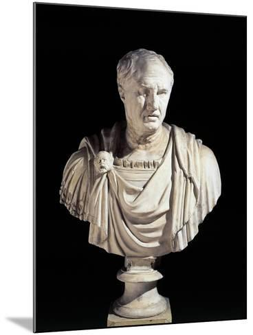 Bust of Cicero from Sabbioneta, Mantova Province, Italy--Mounted Giclee Print
