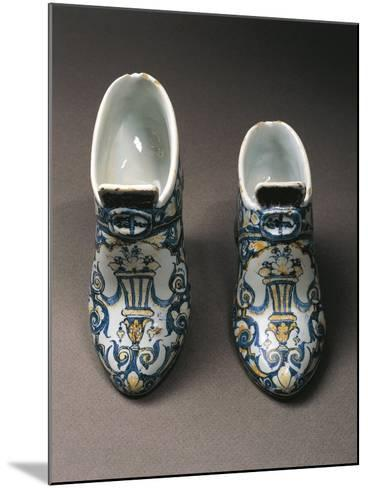 Porcelain Shoes, Edme Poterat--Mounted Giclee Print