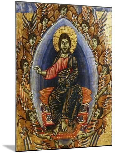 Jesus in Glory with Angels, Late 13th Century--Mounted Giclee Print
