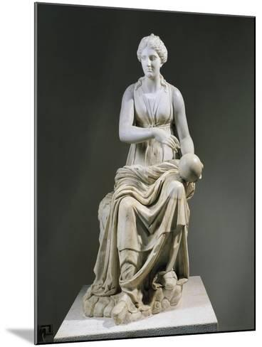 Marble Statue of Muse Urania--Mounted Giclee Print