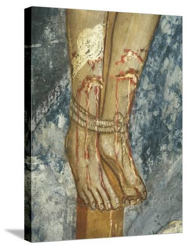 Feet of Thief, Detail Form the Crucifixion--Stretched Canvas Print