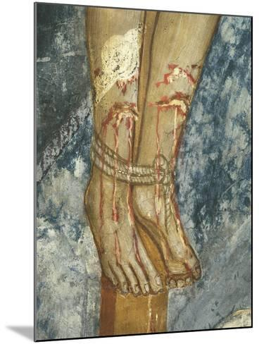 Feet of Thief, Detail Form the Crucifixion--Mounted Giclee Print