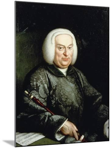 Portrait of Musician with Oboe, 18th Century--Mounted Giclee Print