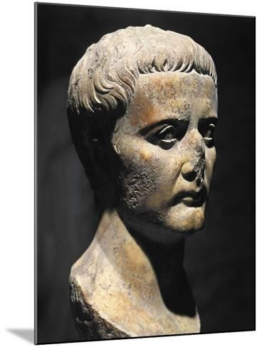 Roman Civilization Bust of Emperor Augustus--Mounted Giclee Print