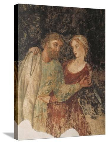 Fresco, Marfisa D'Este's Palace, Ferrara, Emilia-Romagna, Italy, 16th Century--Stretched Canvas Print