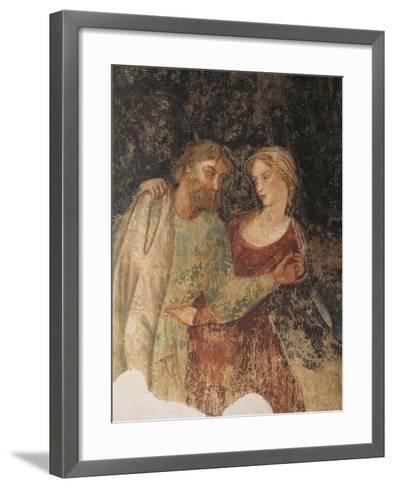 Fresco, Marfisa D'Este's Palace, Ferrara, Emilia-Romagna, Italy, 16th Century--Framed Art Print