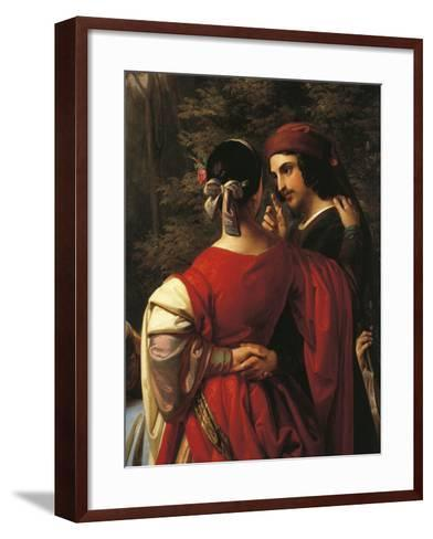 Italy, Treviso, Storytellers of Decameron, Close-Up--Framed Art Print