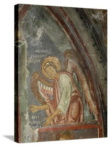 The Archangel Michael Detail, 13th Century--Stretched Canvas Print
