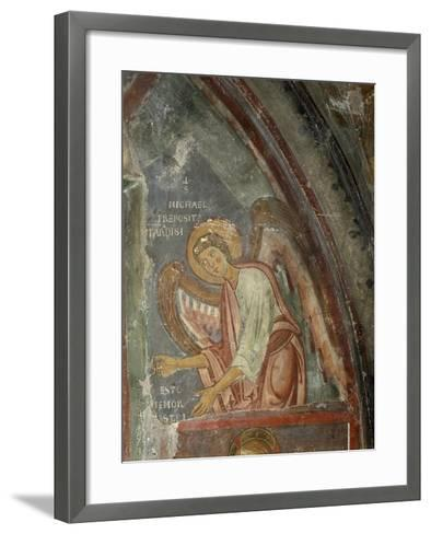 The Archangel Michael Detail, 13th Century--Framed Art Print