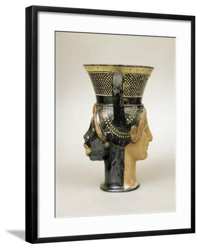 Etruscan Civilization, Kantharos--Framed Art Print