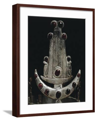 Egypt, Ballana and Qustul, Detail of Diadem with Silver and Semi-Precious Stones--Framed Art Print