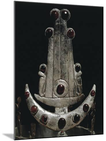 Egypt, Ballana and Qustul, Detail of Diadem with Silver and Semi-Precious Stones--Mounted Giclee Print