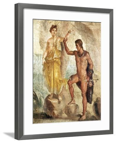 Fresco Depicting Perseus and Andromeda--Framed Art Print