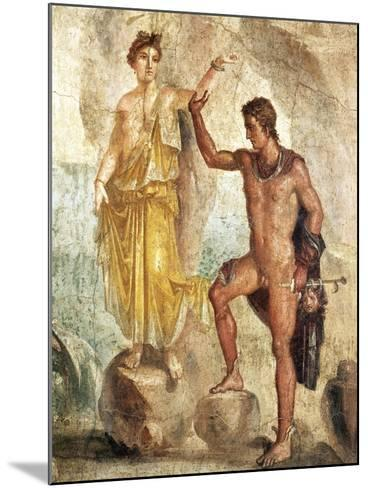 Fresco Depicting Perseus and Andromeda--Mounted Giclee Print