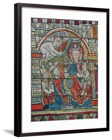Adoration of Magi, Late 13th Century, Norway--Framed Art Print