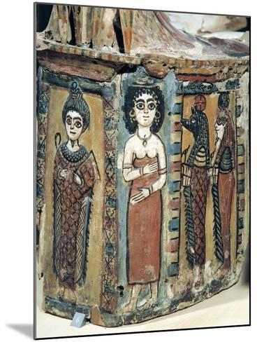 Plastron of Coffin Depicting Isis Figure--Mounted Giclee Print