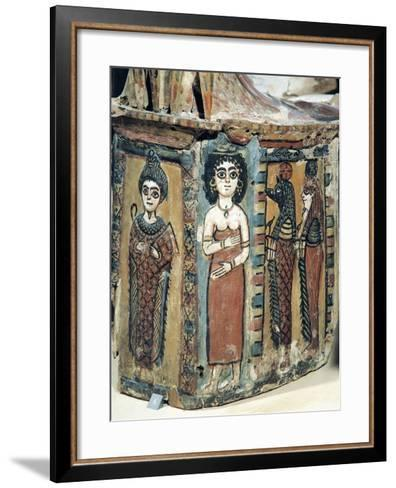 Plastron of Coffin Depicting Isis Figure--Framed Art Print