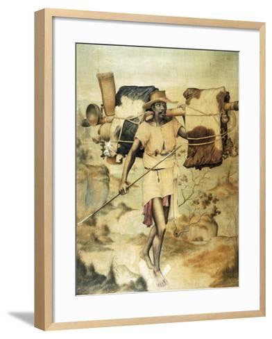 Madagascar Carrier--Framed Art Print