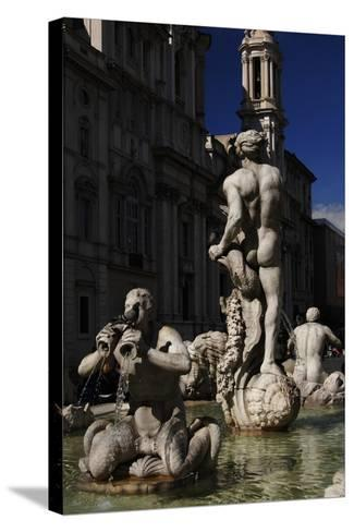 The Moor Fountain, 1576--Stretched Canvas Print