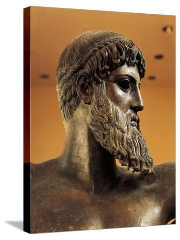 Bronze Statue of Poseidon from Cape Artemision--Stretched Canvas Print
