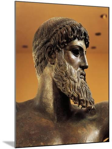 Bronze Statue of Poseidon from Cape Artemision--Mounted Giclee Print