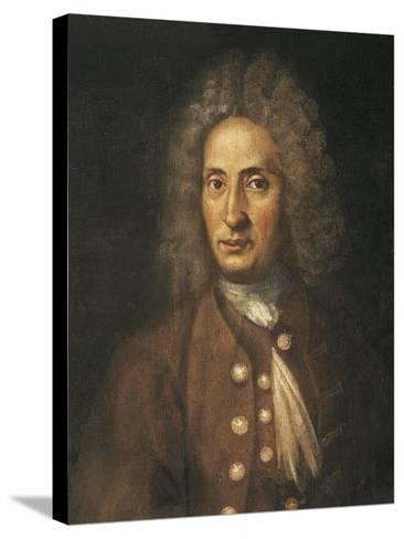 Italy, Bologna, Portrait of Giuseppe Torelli--Stretched Canvas Print
