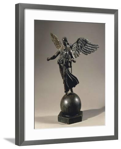 Algeria, Constantine, Silvered Bronze Winged Victoria--Framed Art Print