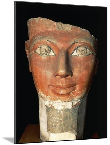 Head of Queen Hatshepsut from Deir El-Bahari--Mounted Giclee Print