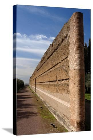 Hadrian's Villa, Pecile, Italy--Stretched Canvas Print