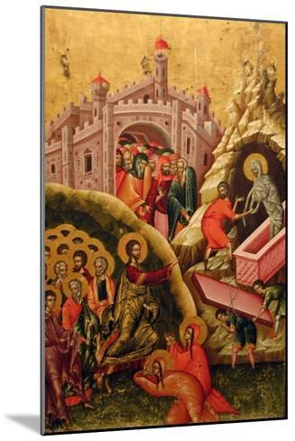 The Raising of Lazarus--Mounted Giclee Print