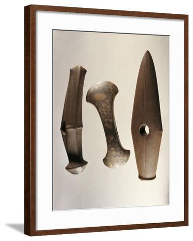 Sweden, Stockholm, Axes of the Battle Axe Culture--Framed Art Print