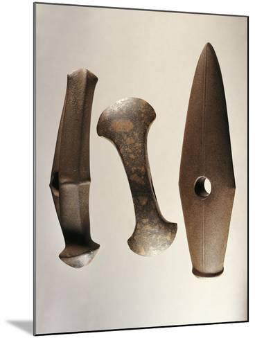 Sweden, Stockholm, Axes of the Battle Axe Culture--Mounted Giclee Print