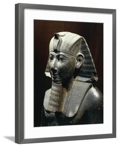 Statue of Thutmose III--Framed Art Print
