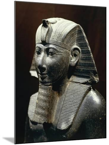 Statue of Thutmose III--Mounted Giclee Print
