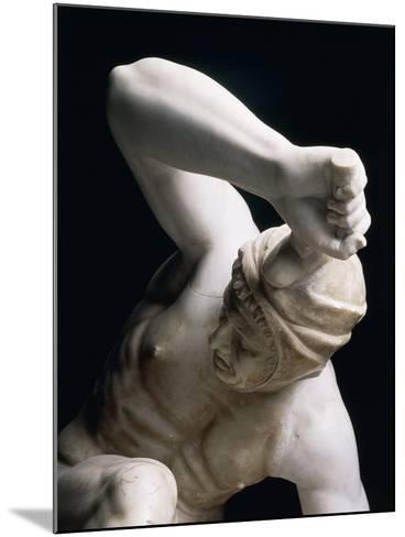 Marble Statue of Persian Soldier, Roman Copy of Pergamon School Original--Mounted Giclee Print