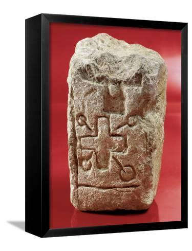 Inquisition's Altar Stone--Framed Canvas Print