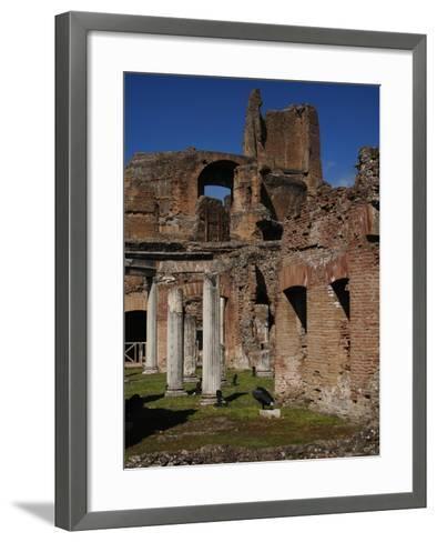 Hadrian's Villa. Maritime Theatre, Italy--Framed Art Print