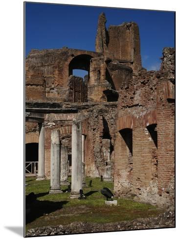 Hadrian's Villa. Maritime Theatre, Italy--Mounted Giclee Print