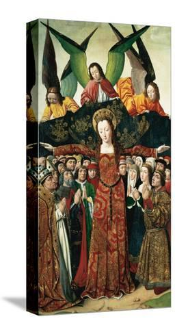 The Virgin of Mercy, Altarpiece from the Convent of Saint Clare, Spain--Stretched Canvas Print