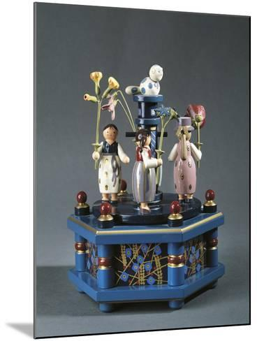 Tyrolean Carousel with Music Box--Mounted Giclee Print