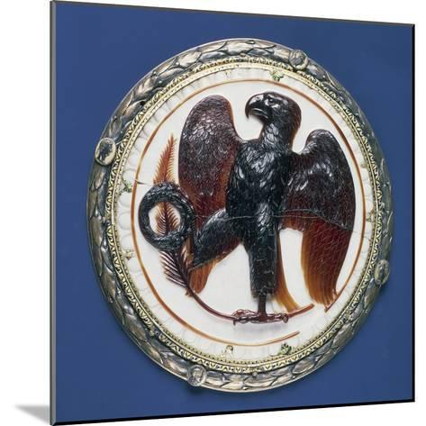 Cameo with Eagle and Symbols of Victory, Onyx, Silver-Gilt Frame in Second Half of 16th Century--Mounted Giclee Print