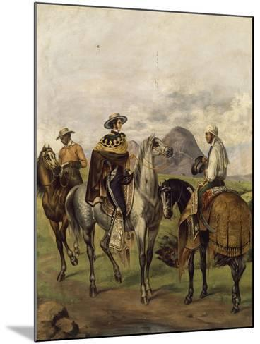 Mexico, Ranchers--Mounted Giclee Print