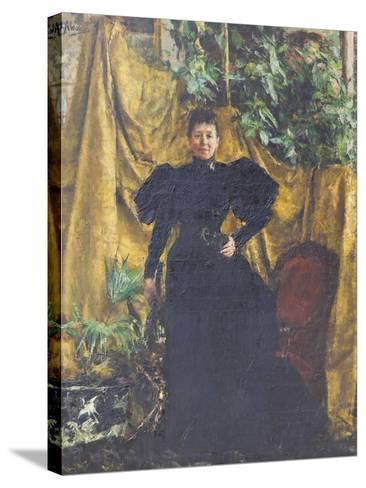 Portrait of Signora Pantaleoni, 1894--Stretched Canvas Print