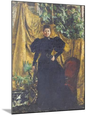 Portrait of Signora Pantaleoni, 1894--Mounted Giclee Print