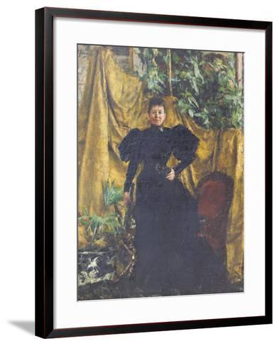 Portrait of Signora Pantaleoni, 1894--Framed Art Print