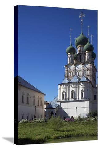 View of Kremlin, Rostov, Russia--Stretched Canvas Print