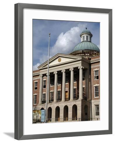 Jackson. the Old Mississippi State Capitol--Framed Art Print