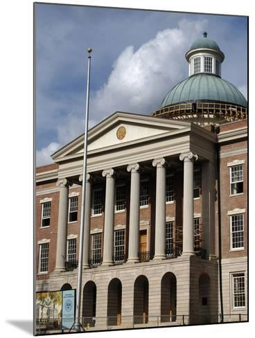 Jackson. the Old Mississippi State Capitol--Mounted Giclee Print